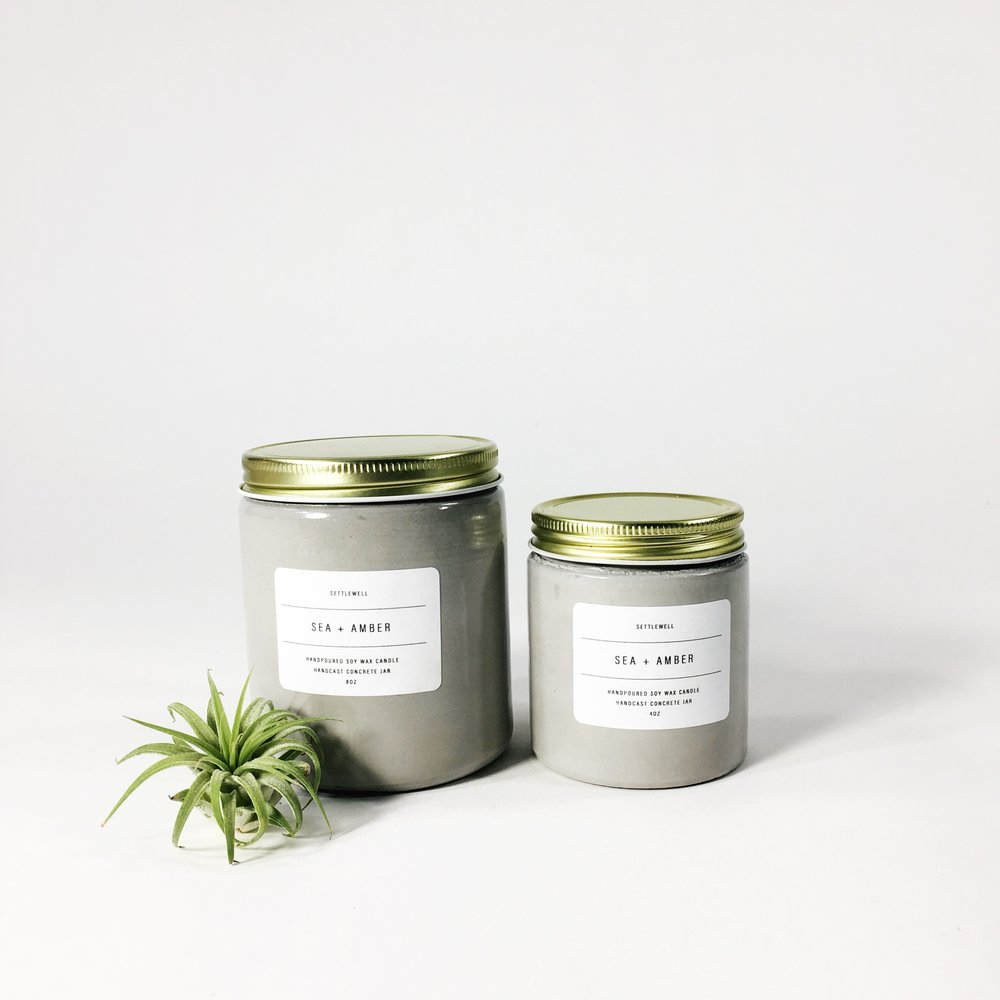 SHOP CONCRETE CANDLES >