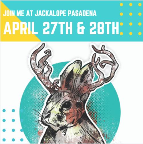 Jackalope Pasadena   Spring Fair  275 S. Raymond Ave. Pasadena, CA 91105  April 27-28 2019