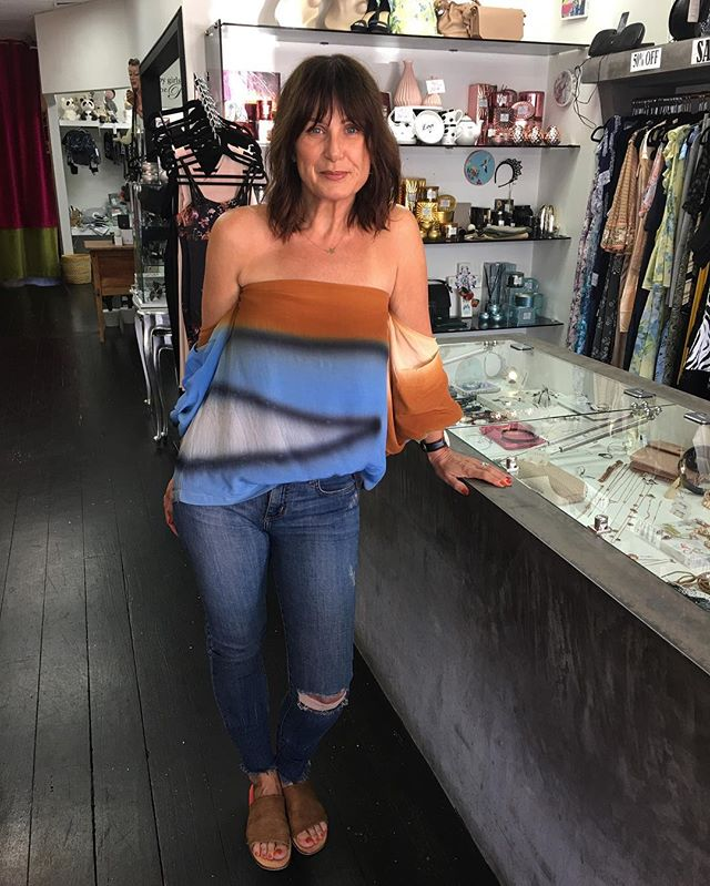 Our beautiful boss lady looking oh-so marvellous in the latest from @mlm_label shop this look in store now! #mlmthelabel #nobodydenim #bestboss #harryandgretel