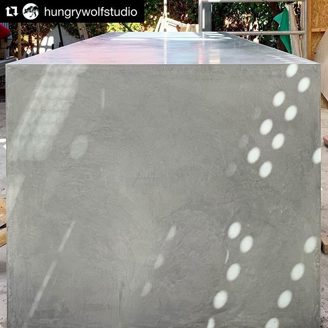 Could not have captured it better @hungrywolfstudio . . . #Repost #lazconbuiltmiddlepark ・・・ Filtered light dancing on this freshly poured island bench top for @lazconbuild designed by @auhaus  Our finishing techniques allow for all seen faces to have the same consistent finish. 2.4 tones of concrete later 🤤 #architecturalconcrete #burnishedconcrete #hungrywolfstudio #islandbench #concretebenchtops #concretelife #concretelove #kitchengoals #mrsnassif #middlepark #concretekitchen #concretefurniture #customconcrete #concretedesign #heartofthehome #islandlife