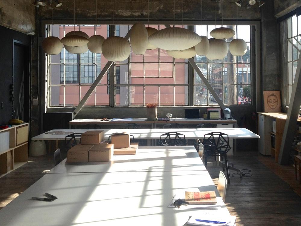 Tung Chiang studio/Heath Clay Studio. San Francisco, CA.  2014