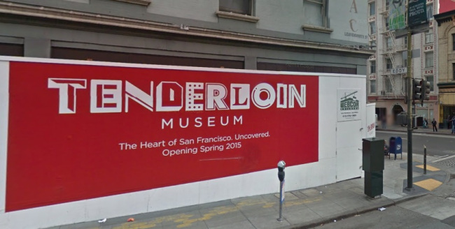 Location of the new Tenderloin museum