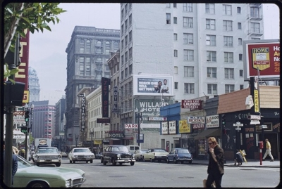 Ellis Street at Mason in the 1970's