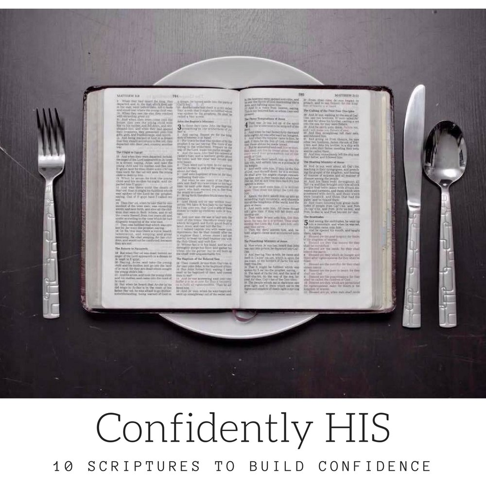 This free download gives you 10 scriptures to boost your confidence to make sure you're not only more confident in you but more confident in Him too.