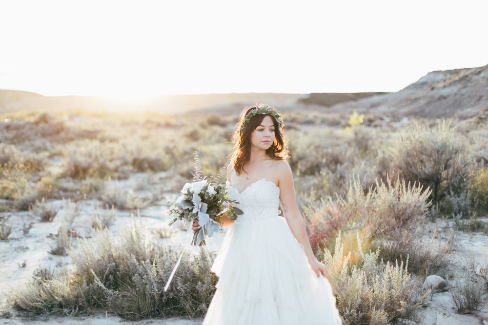 Fern & Frond Floral Design : Love in the Badlands