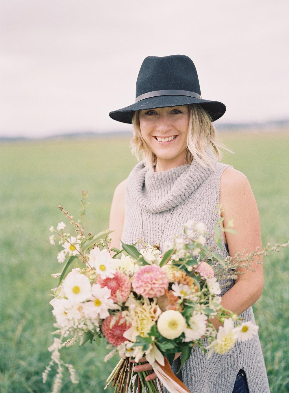 Chelsea Hogan, Floral Designer, Founder | Fern & Frond Floral Studio | Kamloops, BC