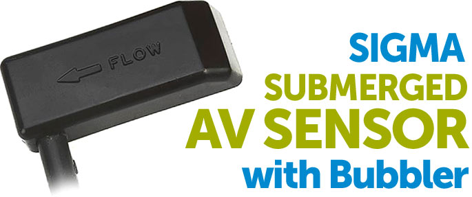 AV Flow Sensor with Bubbler