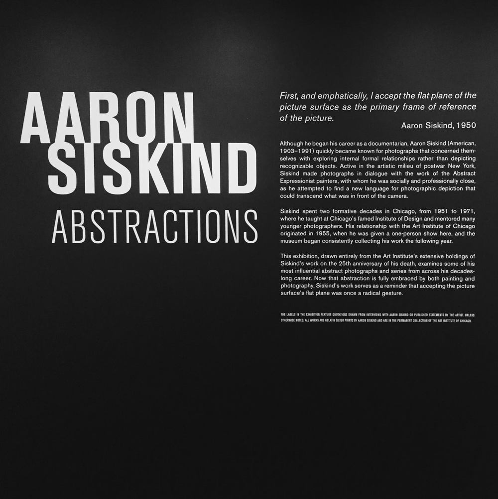 SATURDAY, JULY 30 Aaron's work on display at The Art Institute of Chicago was amazing, refreshing and was just the right amount of inspiration to push me for the next 15 years.