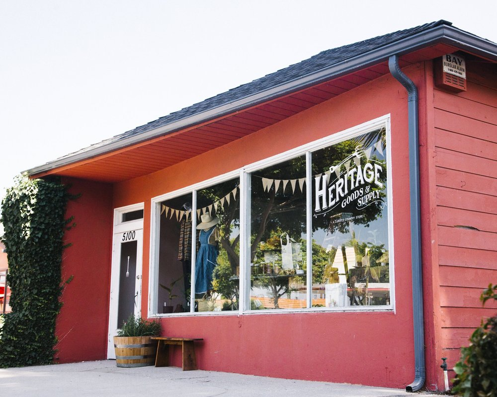 Shop Heritage - A curated country store for man, woman, & child.