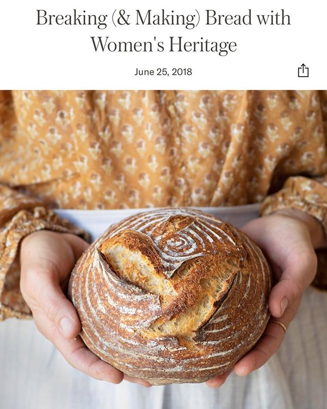 You can do it! Baking your own bread might seem daunting, but just read our post for @jennikayne we think it could be easier and tastier than you may think! 📷 @brittanyesmith . . . . . . #ripandtan #sourdough #tryit #bakeit #diybread #learnmore #womensheritage