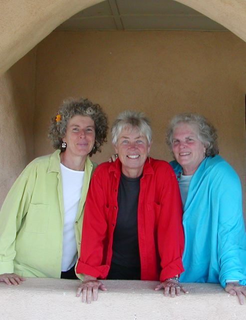 L-R: Becky Reardon, Elise Witt, Terry Garthwaite