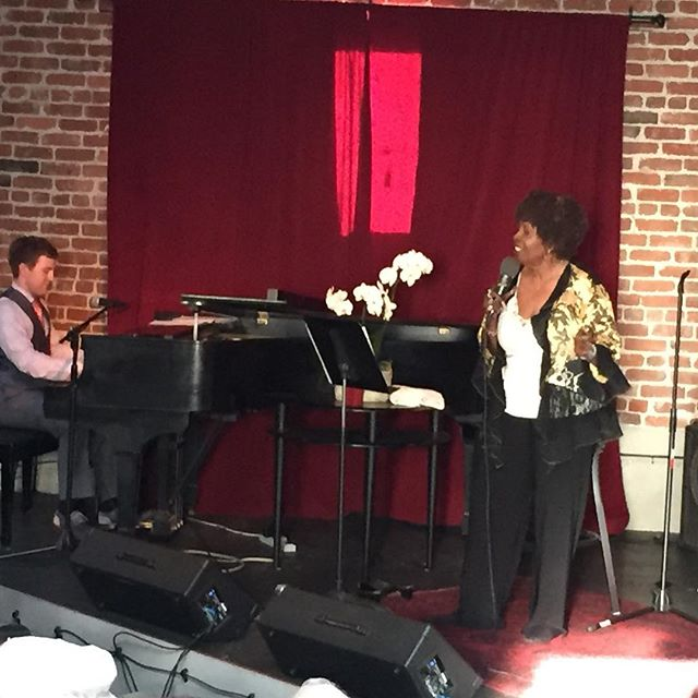 The Dynamic Miss Faye Carol and her wonderful pianist Joe Warner, Sept. 17, 2017