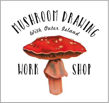 Mushroom Drawing Workshop @ Object Shop