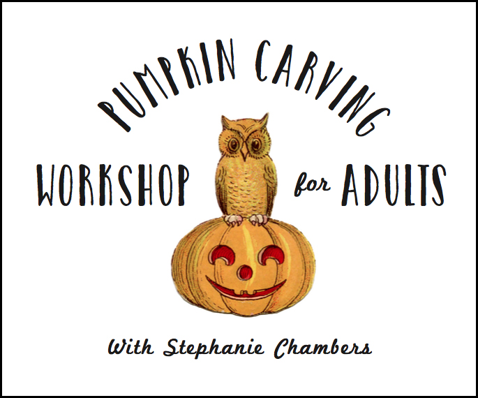 Pumpkin Carving Workshop Holloween at RBG
