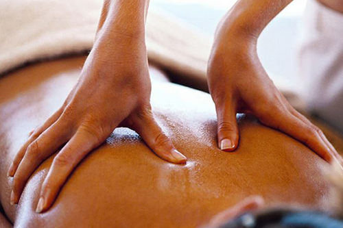 Massage to help relieve strain, bad posture and aid relaxation