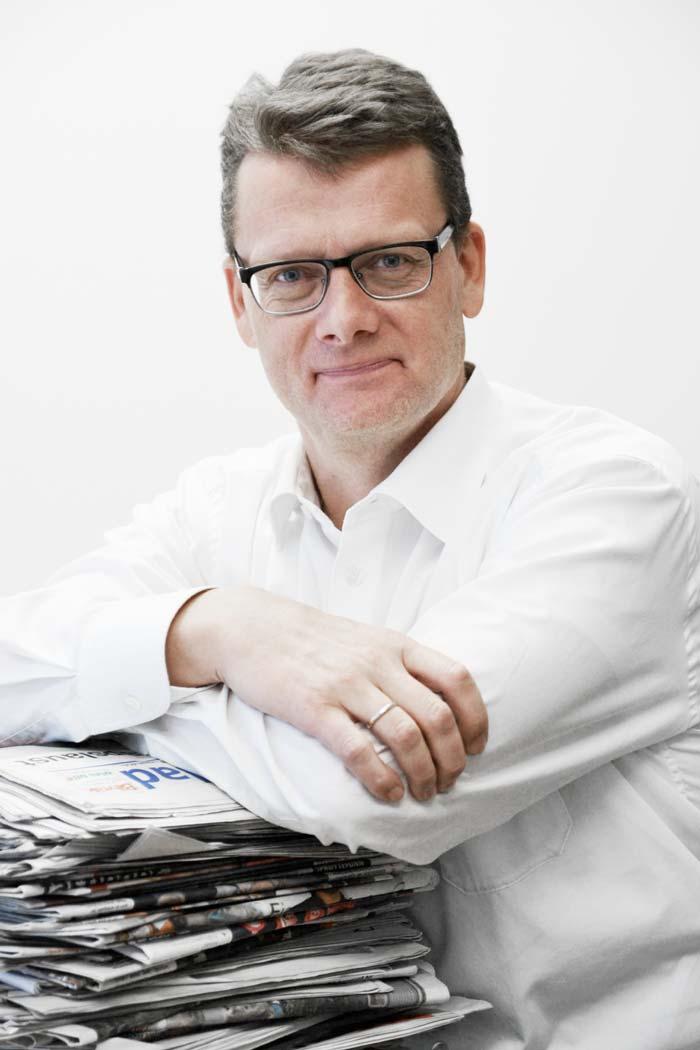 Geir K. Hus, markeds- og informasjonssjef i Landslaget for lokalaviser