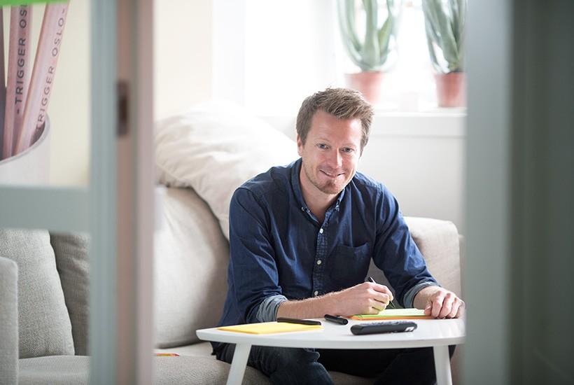 Preben Carlsen, konsernsjef i Trigger