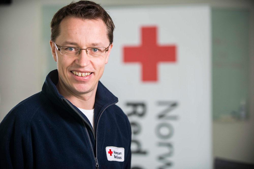 Øistein Mjærum, kommunikasjonsdirektør i Røde Kors