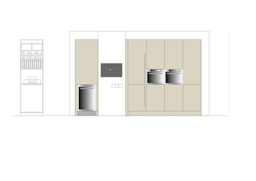 Keuken plattegrond indeling for Interieur ontwerp programma