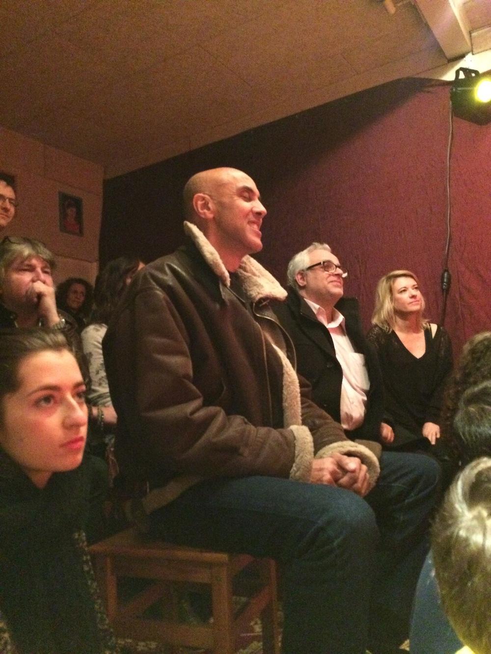 Le public, trié sur le volet....
