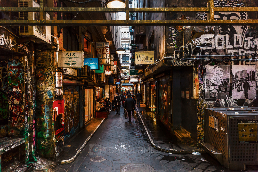 Laneway, Melbourne City, VIC (and it's not Hosier Lane)
