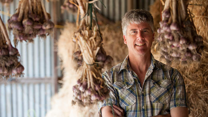 Matthew Evans from  The Gourmet Farmer . Image Credit:  www.sbs.com.au