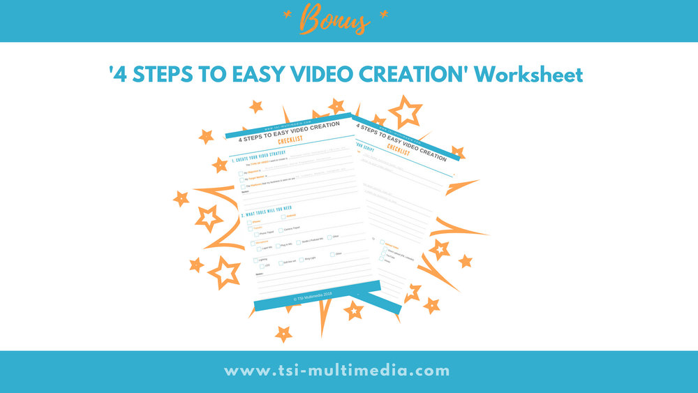 video creation checklist