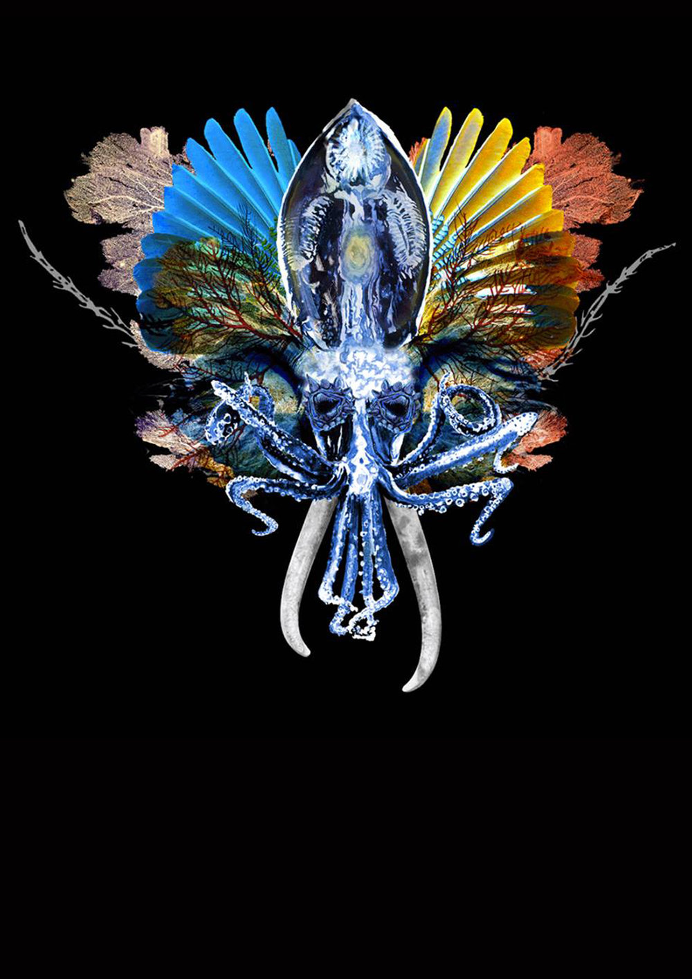 Behemooth, 2016. Digital Collage, 59 x 42 cm.