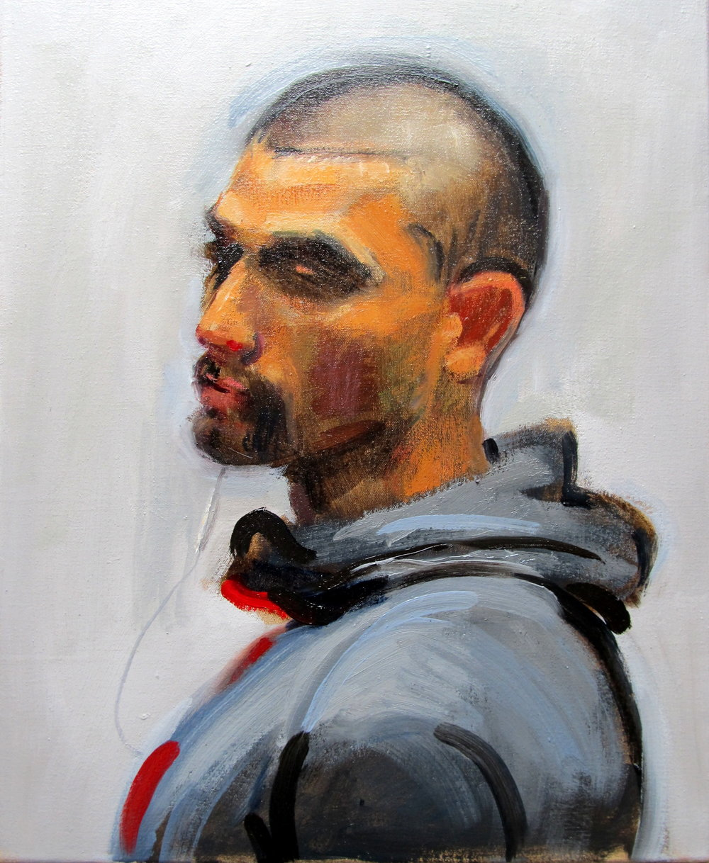 Marcus, 2016 Oil on canvas | 50 x 40 cm £550