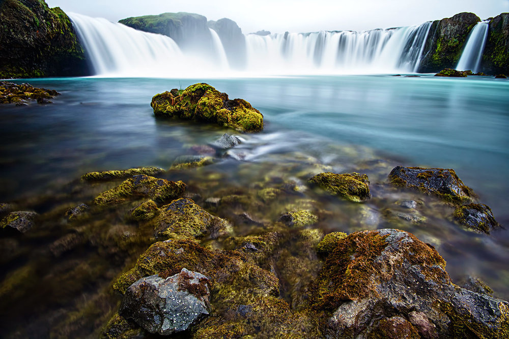 Goðafoss Digital print | 108 x 78 cm (framed) £275