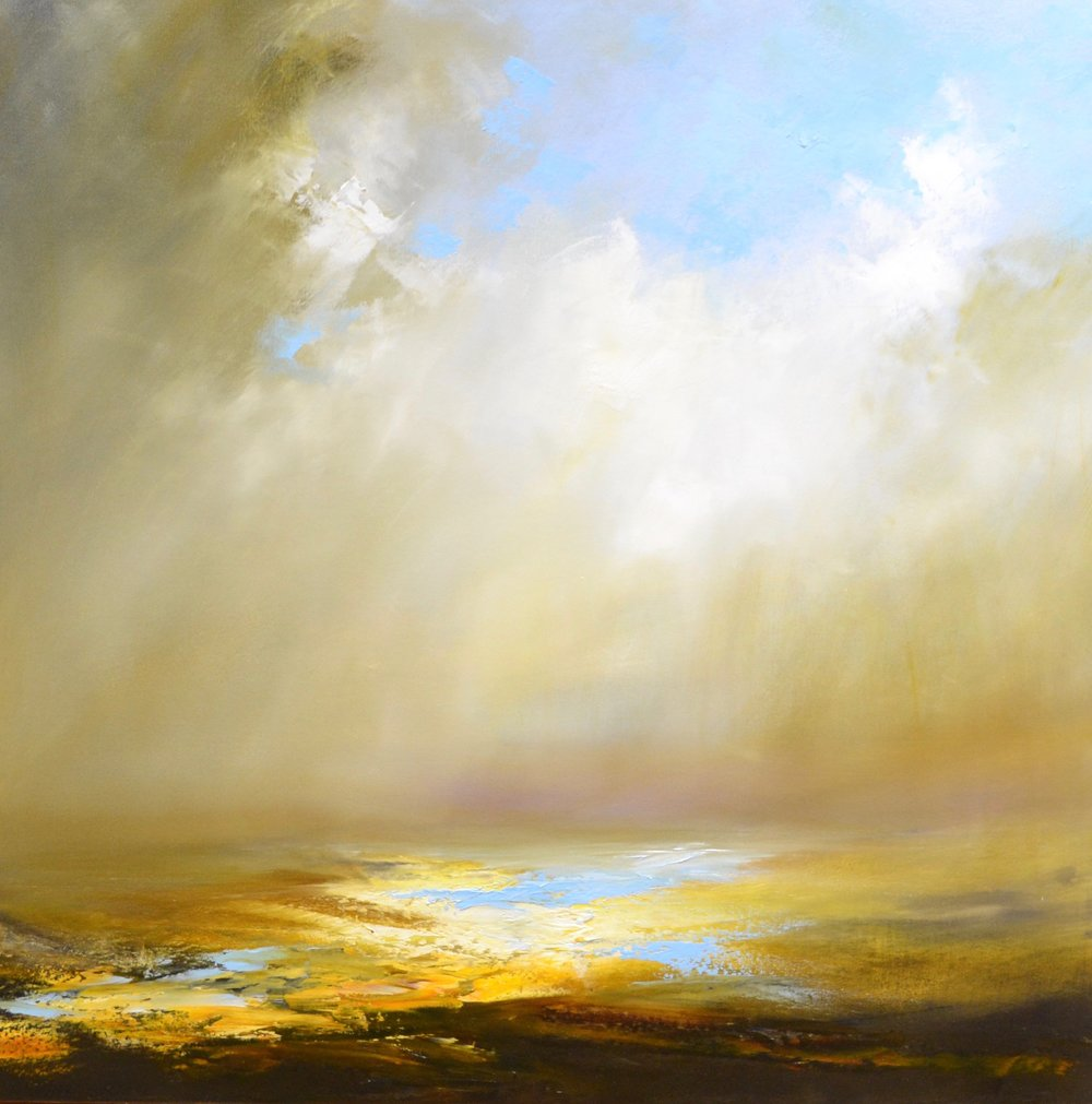 Sun Guide Me Home Oil on canvas | 100 x 100 cm £2500