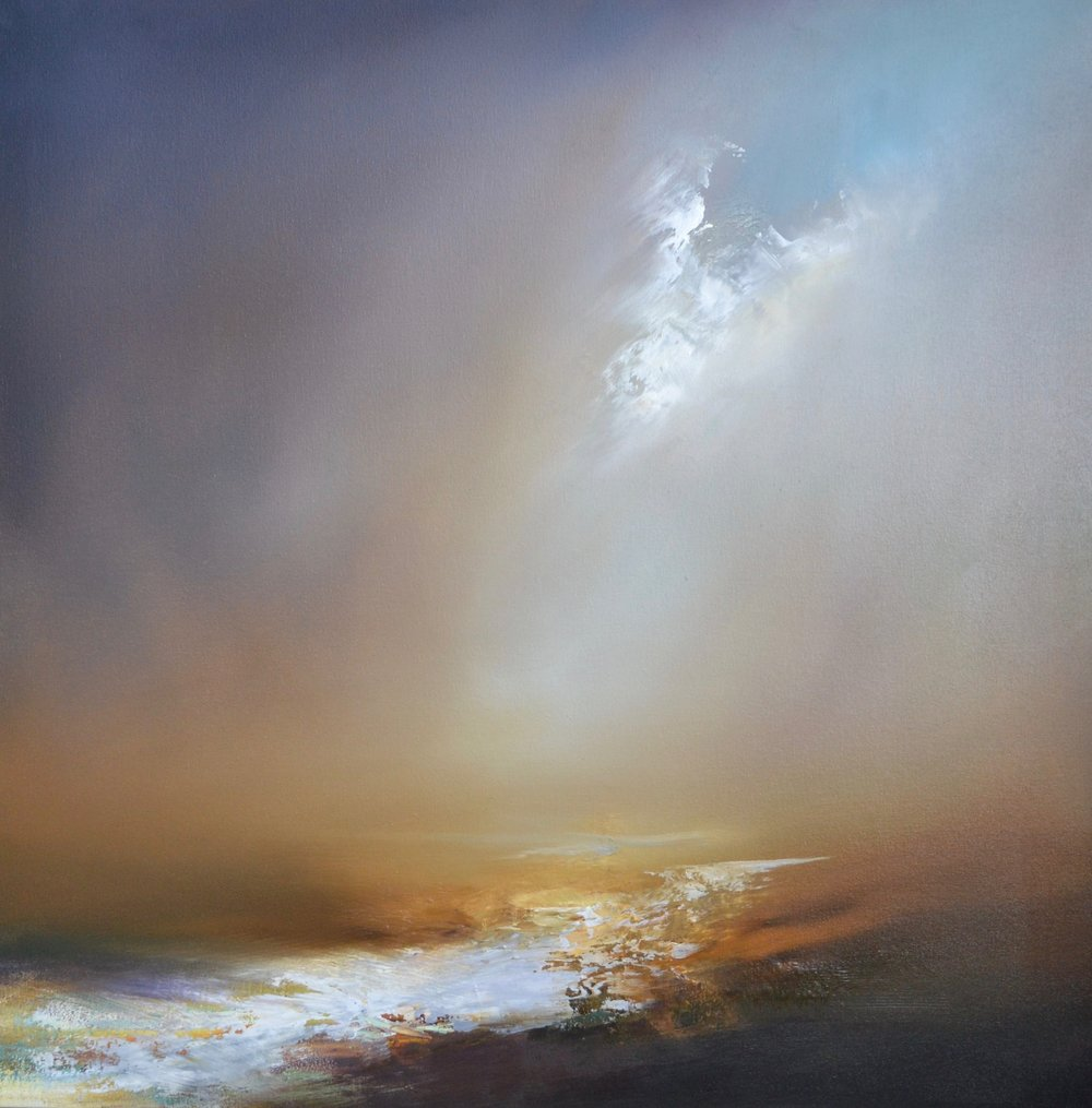 Passage of Light Oil on canvas | 60 x 60 cm £800
