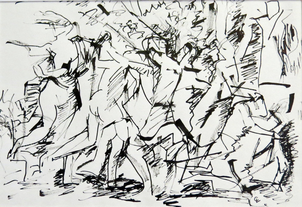 Rite of Spring  Ink on Paper | 40 x 28 cm | £380