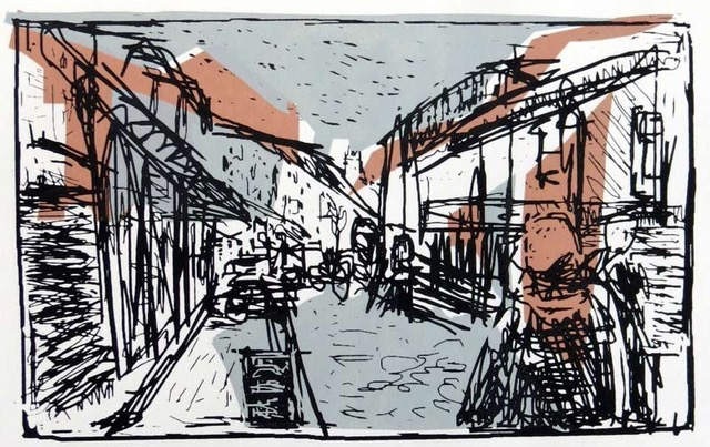 High Street   Silk screen print | 43 x 33 cm | £175