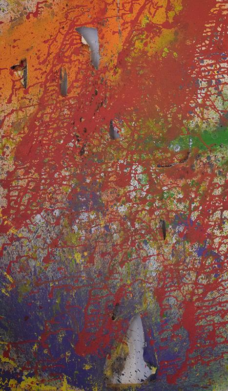 Rio de Janeiro, 2018 |Acrilica e tinta spray sobre tela | 70 x 120 cm | R$ 3,000