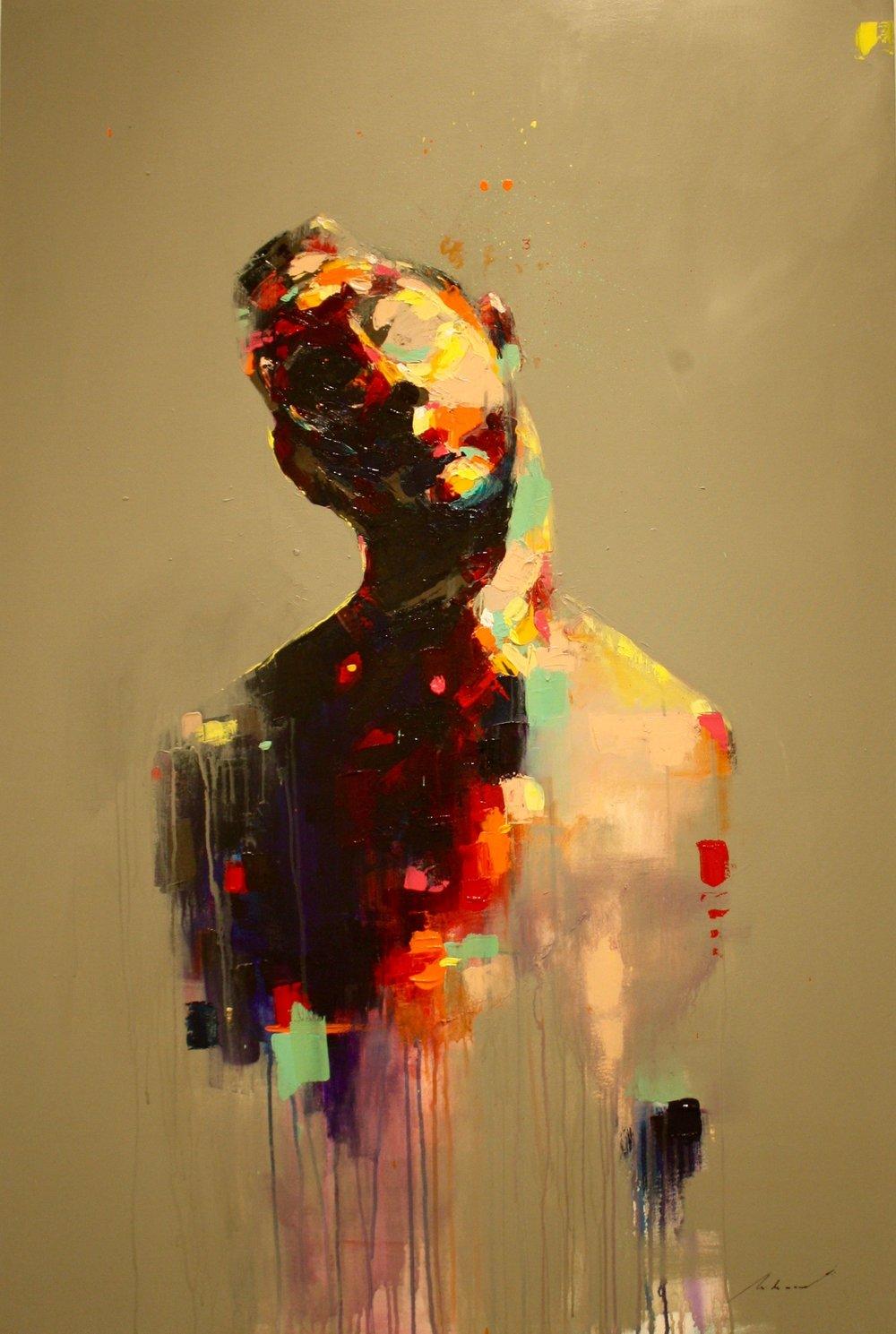 O Artista, 2018 | Acrilica sobre tela |90 x 140 cm | R$ 7,560