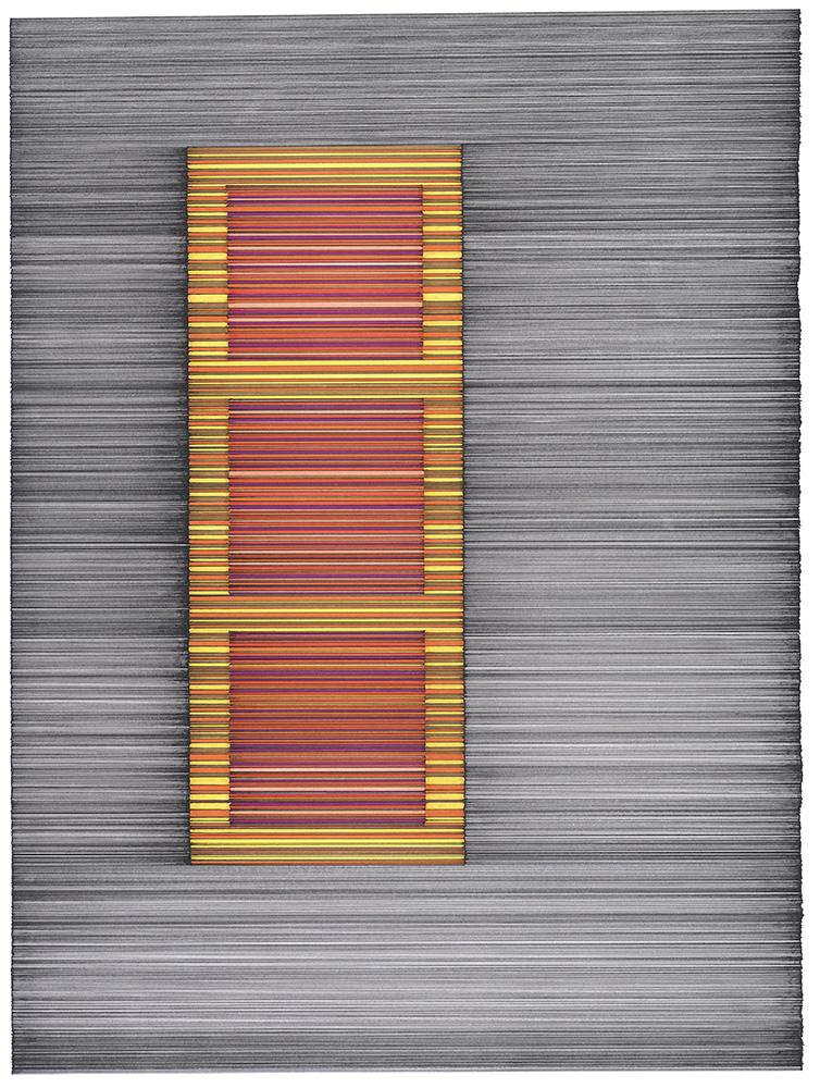 Calçada, 2011 | Nanquim sobre papel | 42 x 59 cm | R$ 6,000