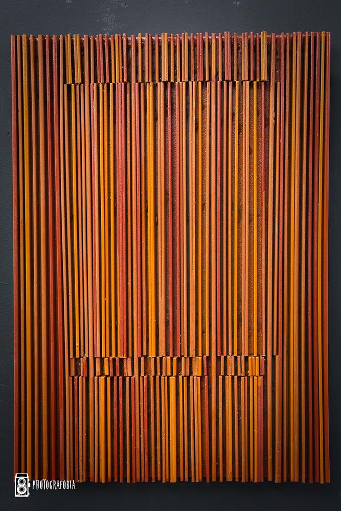 Reds, 2017 | 35 x 50 x 4 cm | Ferro | R$ 12,000