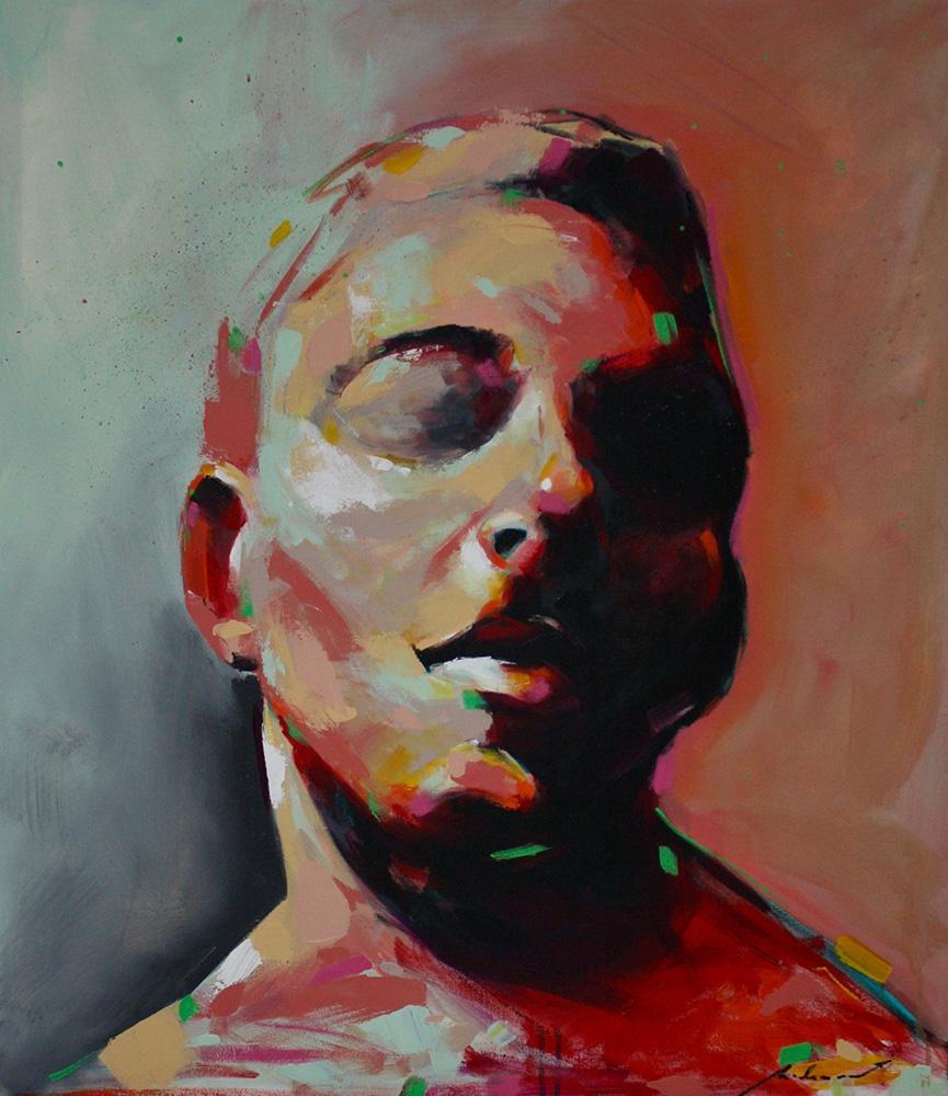 Epiderme,2018 | Acrilica sobre tela | 70 x 80 cm | R$ 3,360