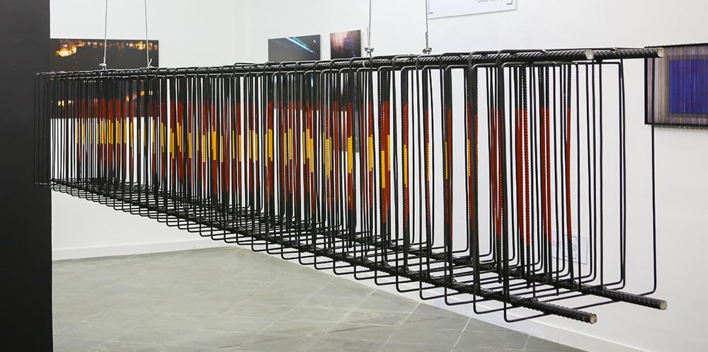 Beam, 2017 | Ferro | 280 x 40 x 25 cm | R$ 16,000