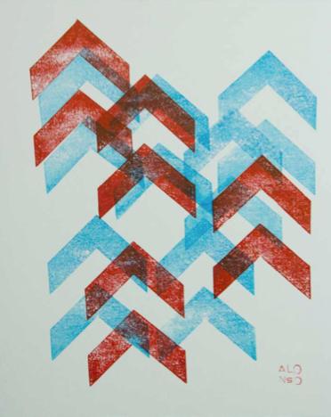 5, 2017 | Tinta de carimbo sobre papel | 33.5 x 38.5 cm | R$ 350