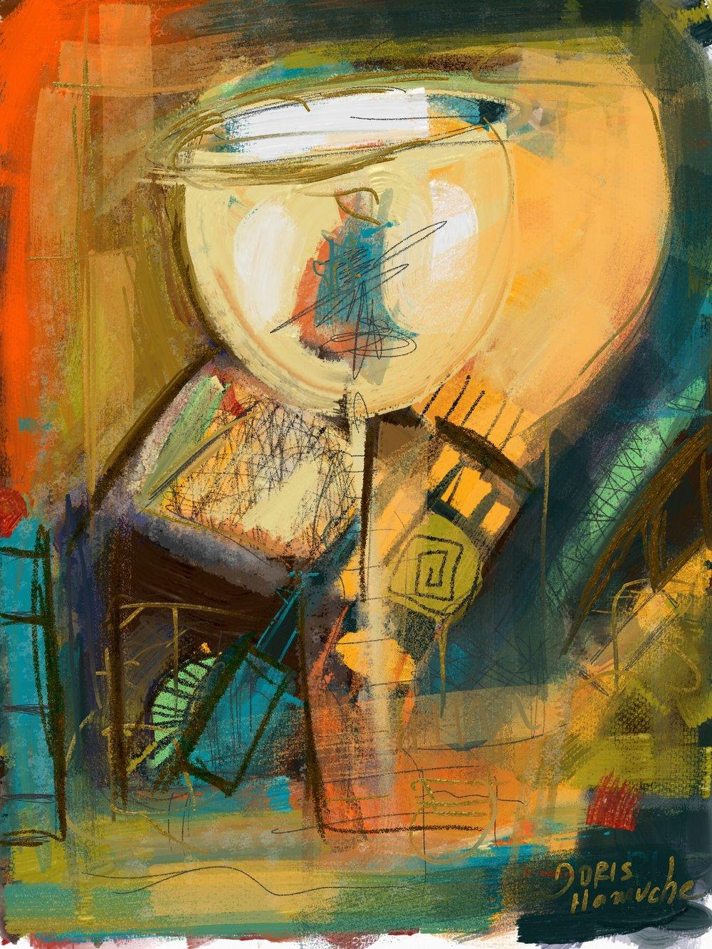 Taça Iluminada, 2018 | Arte digital | 40 x 50 cm | R$ 500