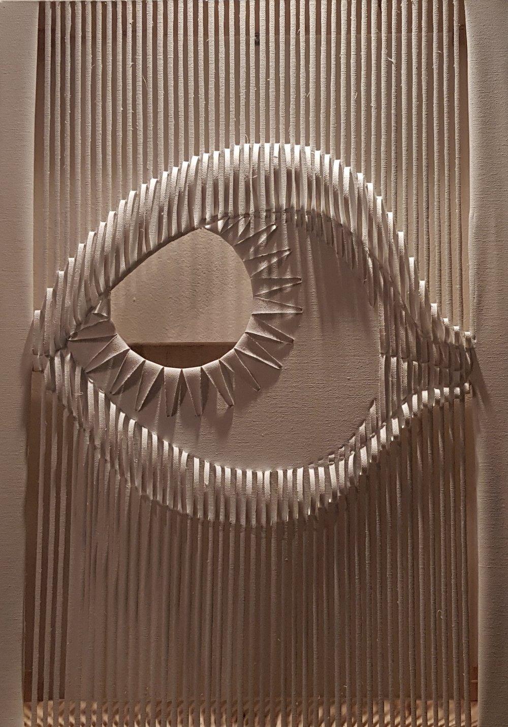 Experimento_08_V2_(See Through),2018 | Tela | 50 x 70 cm |  R$ 2,000