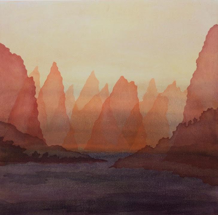 Cinnamon Sky, 2018 | Oil on wood | 30 x 30 cm | £475