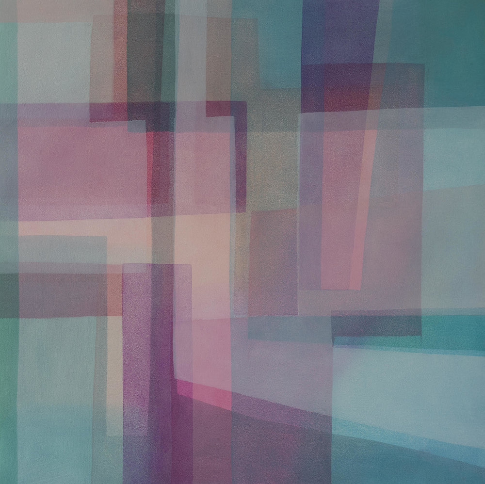 Colour Breath, 2018 | Oil on wood | 30 x 30 cm | £475