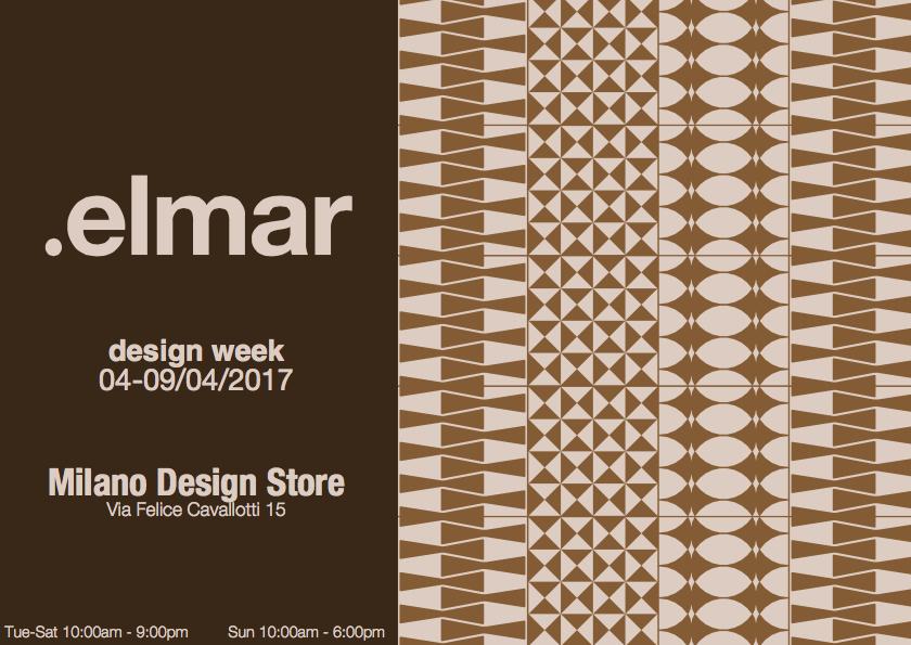 ELMAR   www.elmarcucine.com   FUORISALONE 4-9 апреля, вт-субб с 10:00 до 21:00, вск с 10:00 до 18:00 Via Felice Cavalotti 15