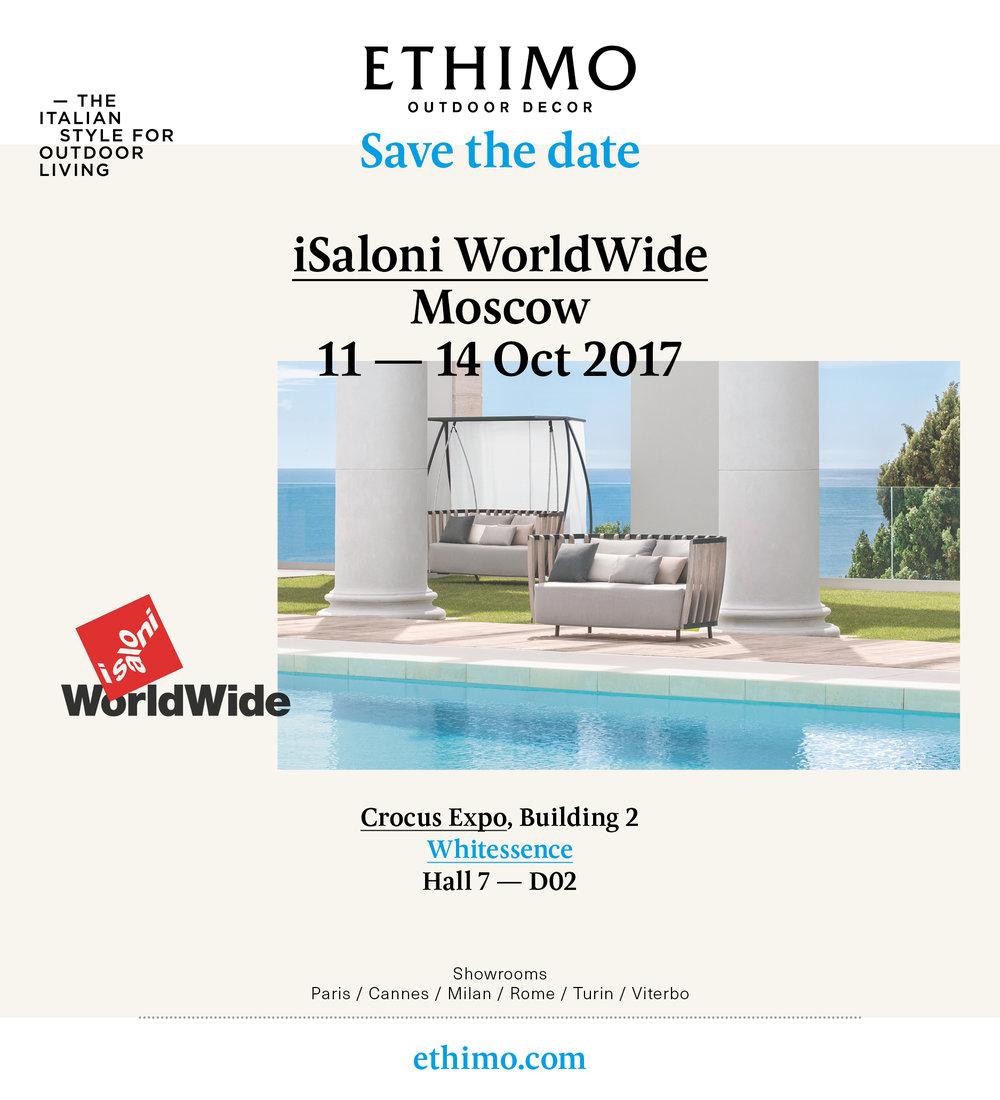 Ethimo  - уютная, изящная и удобная мебель для улицы и сада