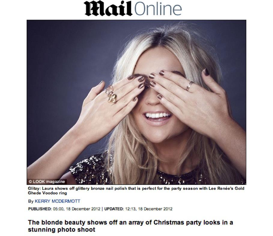 The Mail online - December 2012