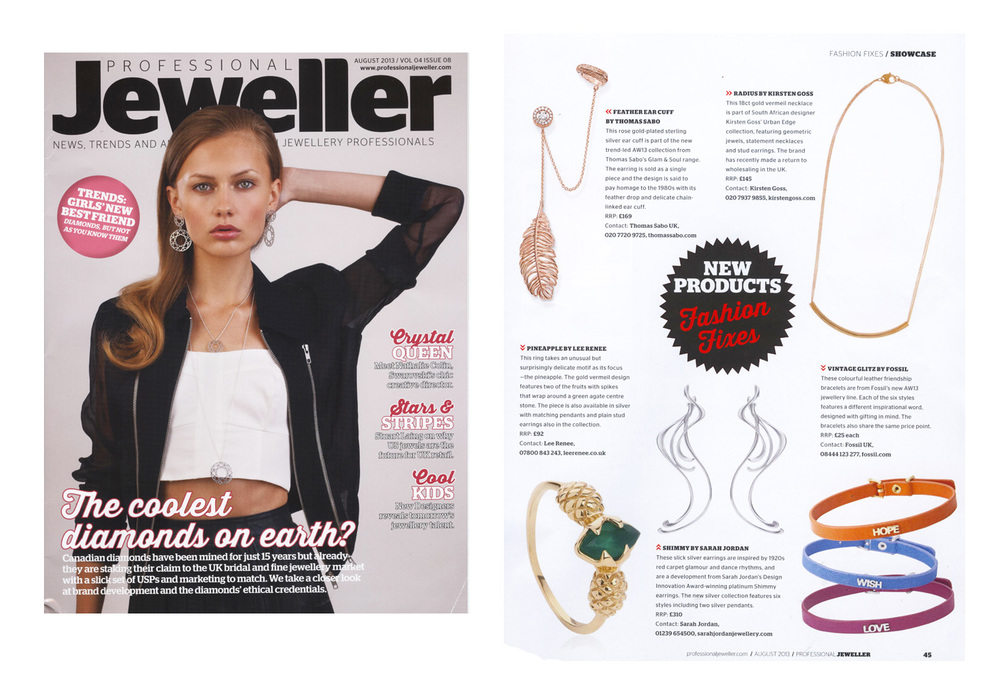 Professional Jeweller Magazine - August 2013