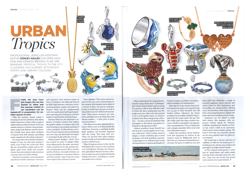 Professional Jeweller Magazine - April 2015